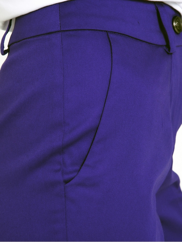 Брюки летние фиолетовые